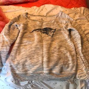 NFL Patriots sweatshirt